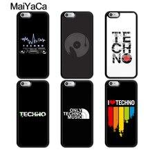 MaiYaCa Techno Musique Pour iPhone XR XS Max 11 Pro Max SE 2020 6S 7 8 Plus X 5s Capa