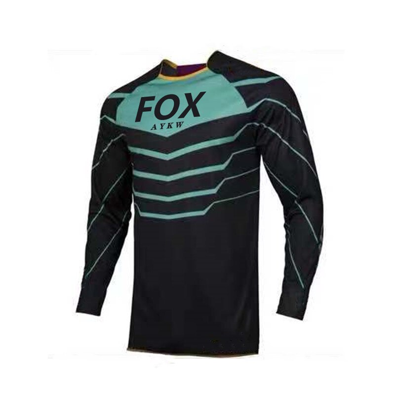 Jersey de ciclismo Jersey de bicicleta en descenso Fox vtt camiseta de...