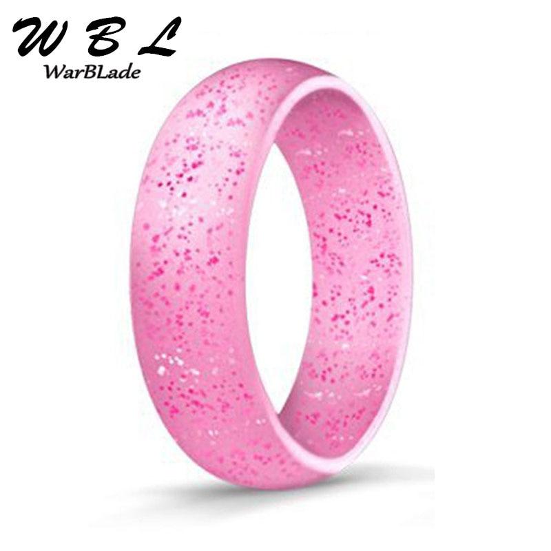 Anneau de doigt en Silicone de qualité alimentaire FDA, anneau en caoutchouc Flexible hypoallergénique Crossfit 5.7mm pour hommes et femmes, bijoux de mariage 4-10