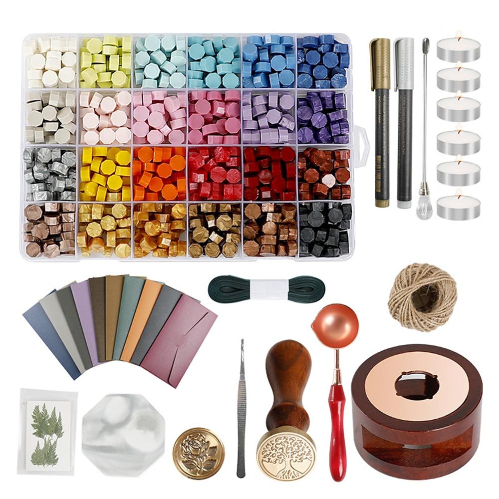 Восковые штампы для печатей, Набор для изготовления печатей воска