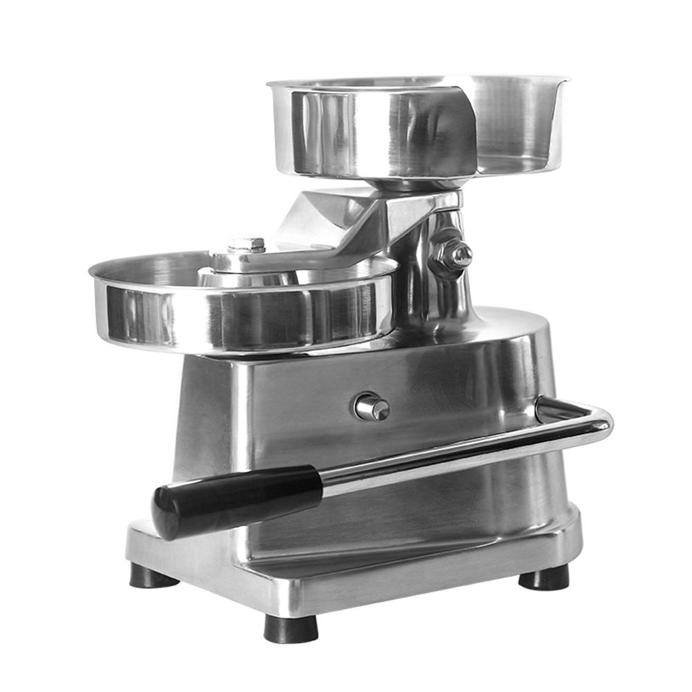 ITOP-آلة ضغط همبرغر 15 سنتيمتر ، محضر طعام مع 500 قطعة ، آلة ضغط مستديرة للحوم