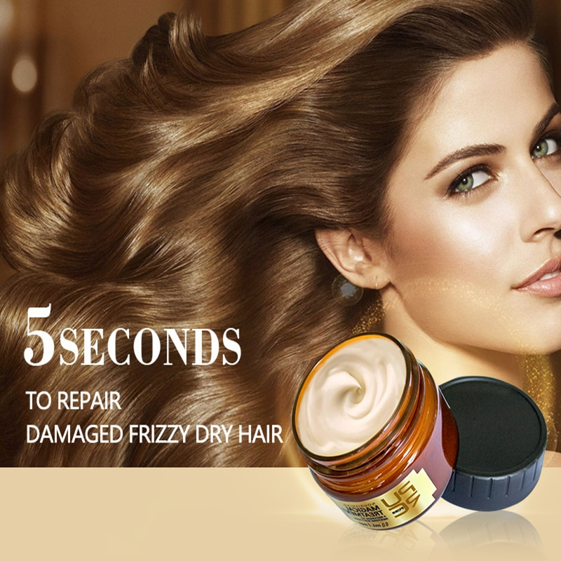 Mascarilla de tratamiento mágico, 120ml, 5 segundos, repara daños, recupera el cabello...