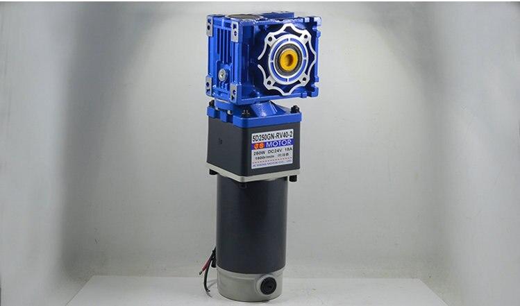 DC24V 250 واط 5D250GN-RV40-2 الثانوية RV40 موتور تروس ، المعدات الميكانيكية/أدوات كهربائية/لتقوم بها بنفسك اكسسوارات موتور الطاقة