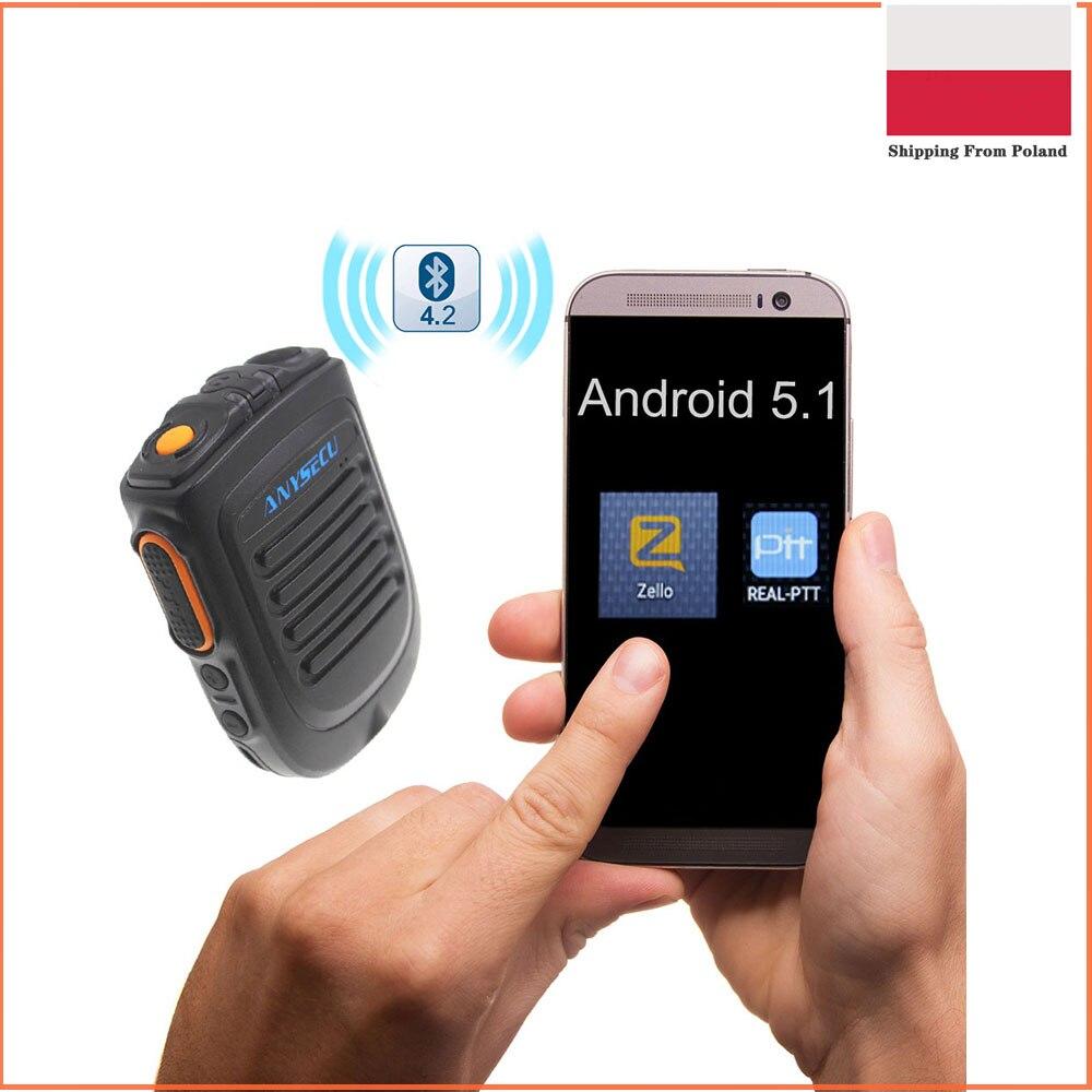Zello PTT-مكبر صوت لاسلكي بتقنية البلوتوث لنظام Android 4G ، وميكروفون لاسلكي للهواتف المحمولة