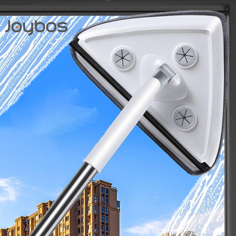 JOYBOS – essuie-glace professionnel avec tige télescopique, outil de nettoyage ménager pour vitres