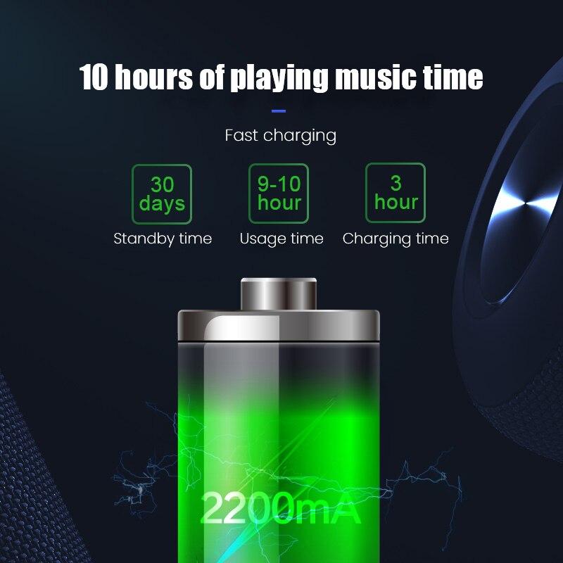 YZTEK Bluetooth Speaker Portable Waterproof Loudspeaker Wireless Handsfree Speakers For Showers Bathroom Pool Car Beach outdoor enlarge