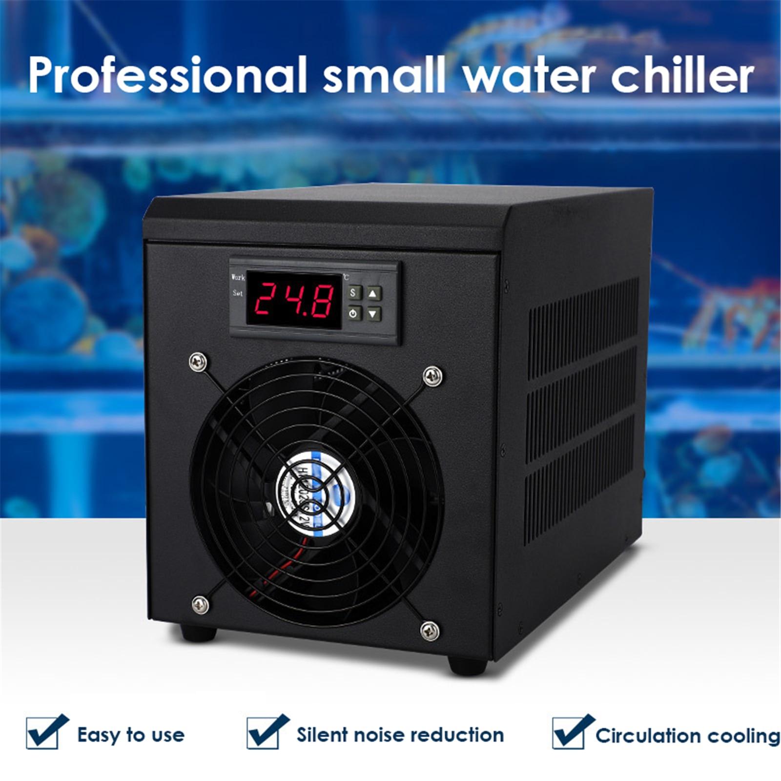 AUPORO 60L Small Fish Tank Cooler Home Breeding Aquaculture Fish And Shrimp Single Cooling Aquarium Cooling Machine