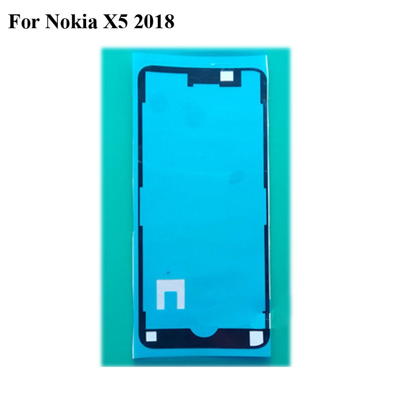 1PC Adhesive Tape For Nokia X5 2018 TA-1109 3M Glue Front LCD Supporting Frame Sticker NokiaX5 2018