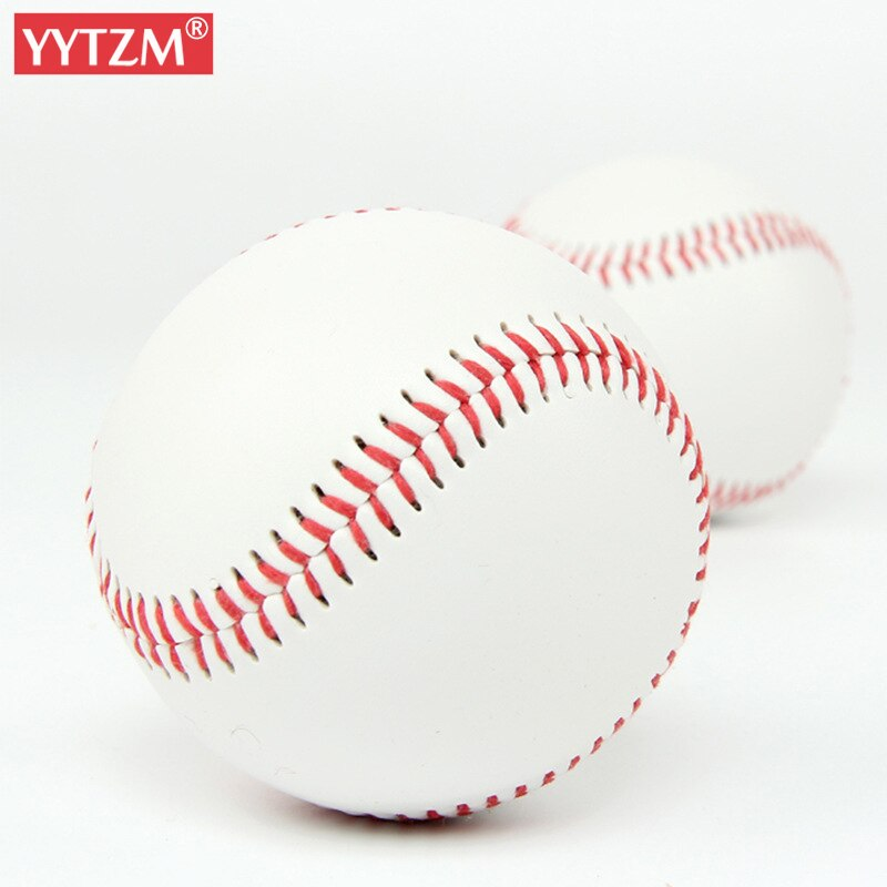Baseball No. 9 Softball Hardball Training Handmade Balls Fitness Products White Safety Kid Baseballs