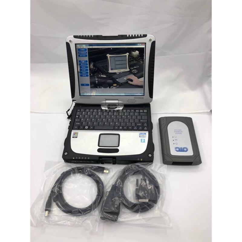 Para Toyota OTC herramienta de diagnóstico otc escáner Techstream para toyota it3 V15.10.029 Última actualización Global para GTS OTC CF19 laptop