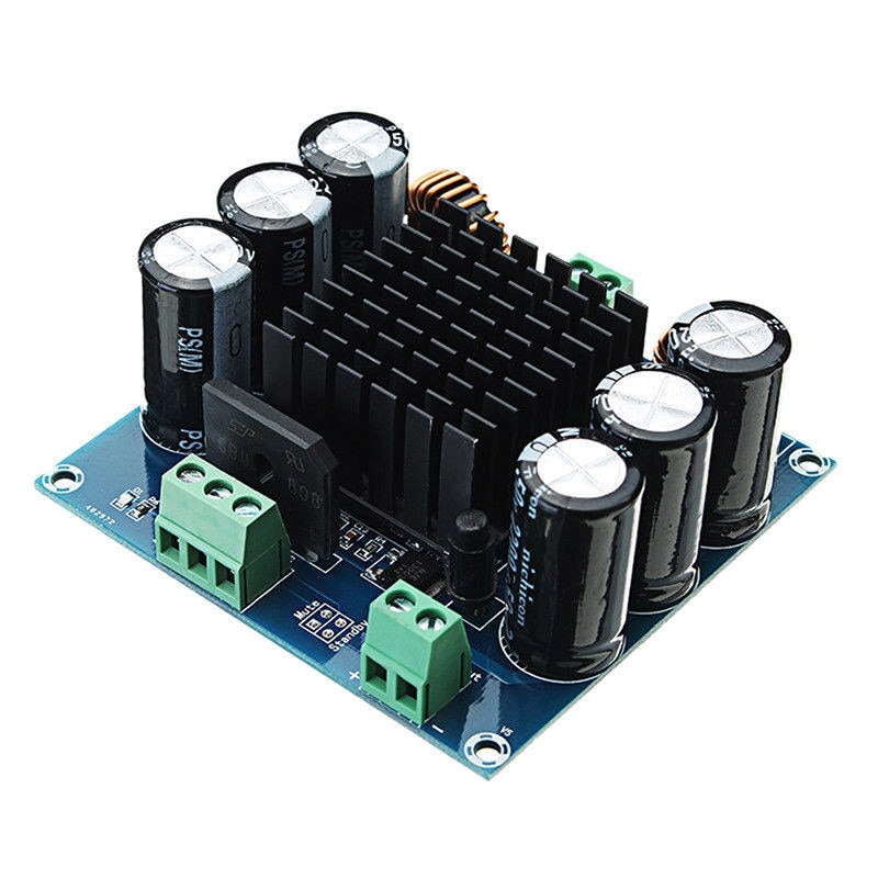 XH-M253 عالية الطاقة أحادية مكبر كهربائي رقمي مجلس TDA8954TH الأساسية BTL وضع حمى الصف 420 واط