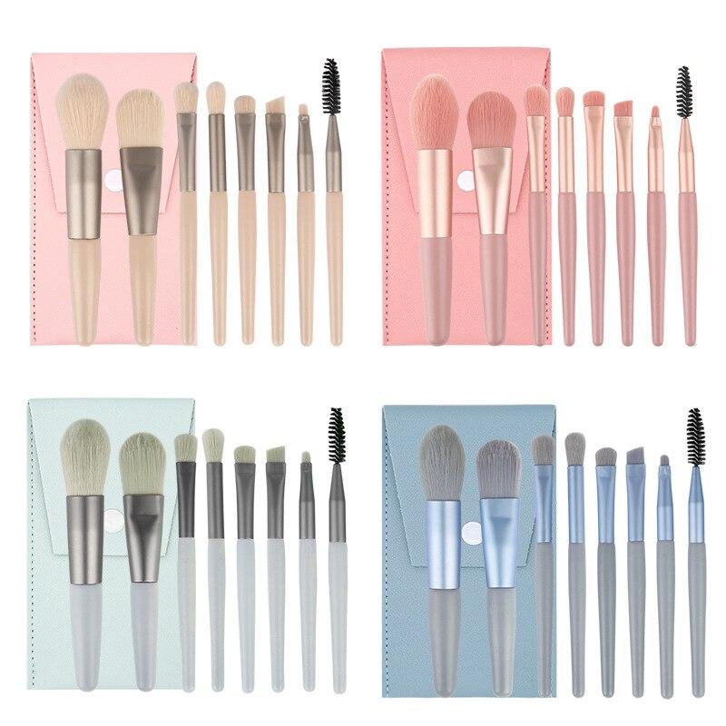 8PCs Makeup Brush Set Cosmetict Makeup For Face Make Up Tools Women Beauty Professional Foundation B