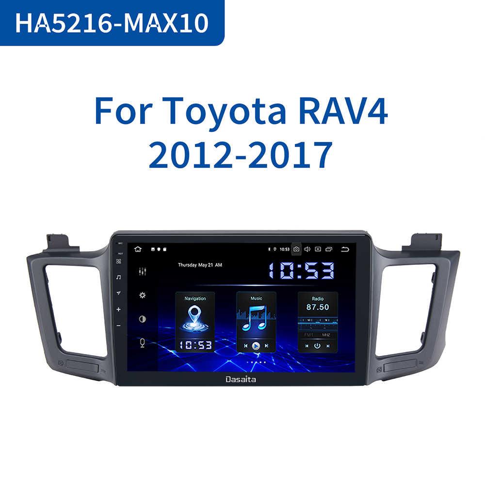 Dasaita 10 2 Ips 1 Din Android 10 0 Multimedia Car Radio For Toyota Rav4 2014 2015 2016 Usb 4gb Ram Max10 Gps Bluetooth Car Multimedia Player Aliexpress