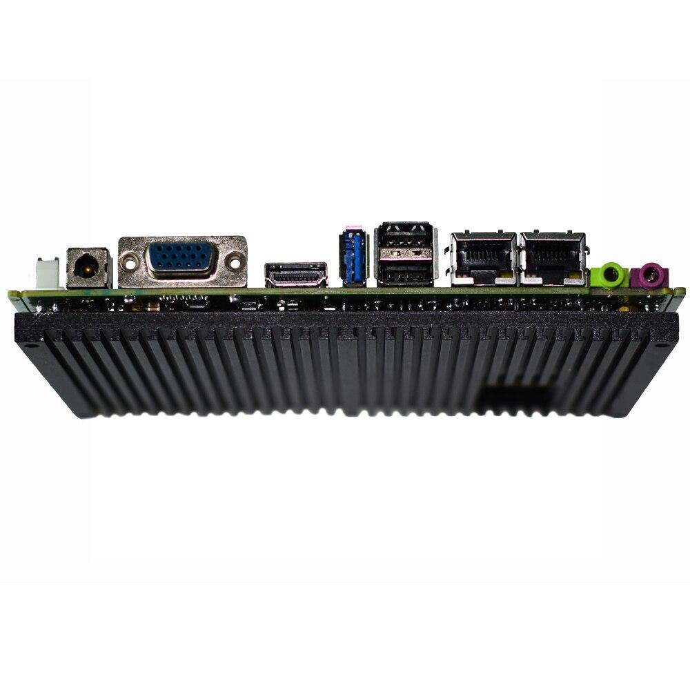 Industrial Mainboard Fanless Intel J1900 Quad Core Processor with 4Gb ram LVDS VGA display Mini ITX Motherboard