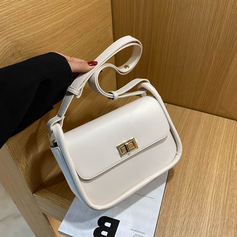 ATLI High Quality Solid Color Shoulder Bags for Women 2021 New Luxury Designer Ladies Crossbody Bag