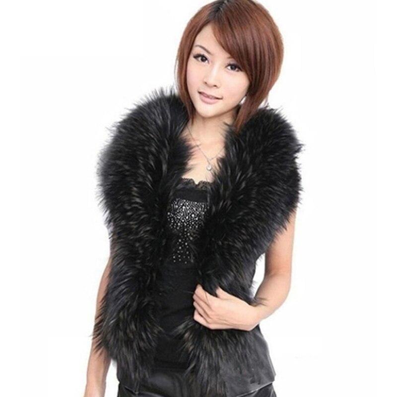 Fur Collar Vest Faux Fur Coat Women Winter Coat Waist Coats Gilet Womens Furr Jacket Fashion Short Section Korean Girls