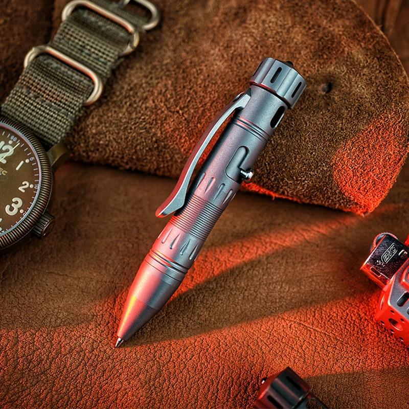 PX10 Bolt Tactical Pen Titanium Alloy Defense Pen Sign Pen Outdoor EDC Equipment