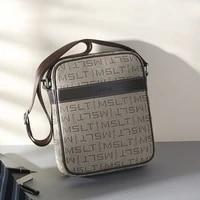 mslt mens bag shoulder bag multifunction anti theft waterproof male crossbody bag casual short trip chest pack