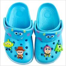 Cartoon Toy Story woody Strawberry bear shoe charms cross PVC beach shoe accessories hole hole shoes buckle JIbiz gift for kids