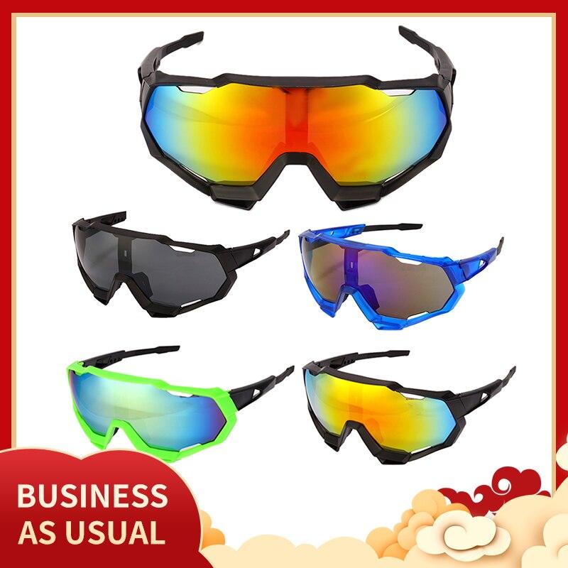 2021 Cycling Ski Glasses Sport Cool Mountain Biking Cycling Sunglasses Sports Eyewear Goggles UV400
