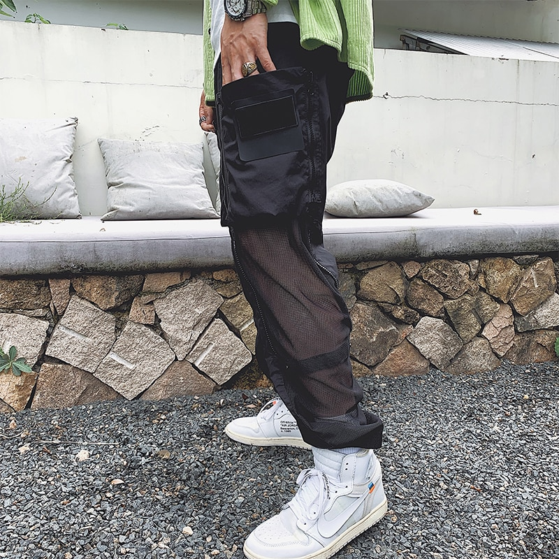 Spring and summer men's casual pants high quality compass fashion brand casual pants luxury sports outdoor casual pants 2021