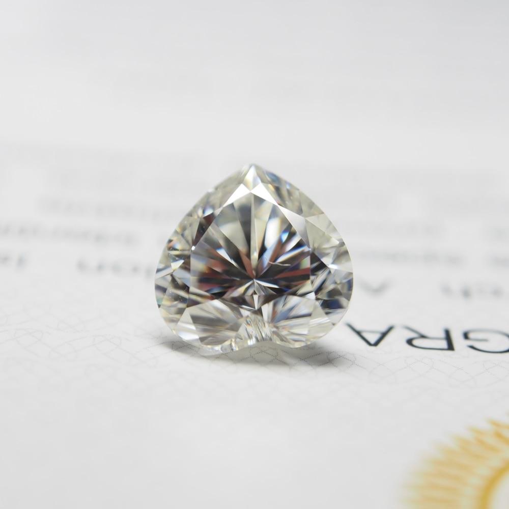 ntc5d 9 5d9 9mm 9*9mm DEF Heart Cut  VVS Moissanite Moissanite Stone Moissanite Diamond 2.4 carat for Wedding Ring