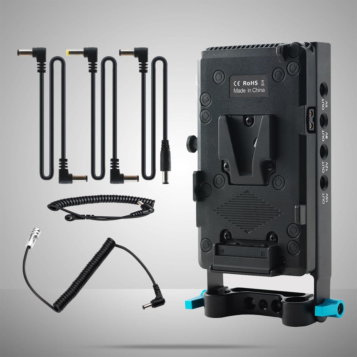 FOTGA V Mount Power Supply Systerm Battery Plate Adapter for Blackmagic Pocket Cinema Camera 4K/6K/6K PRO enlarge