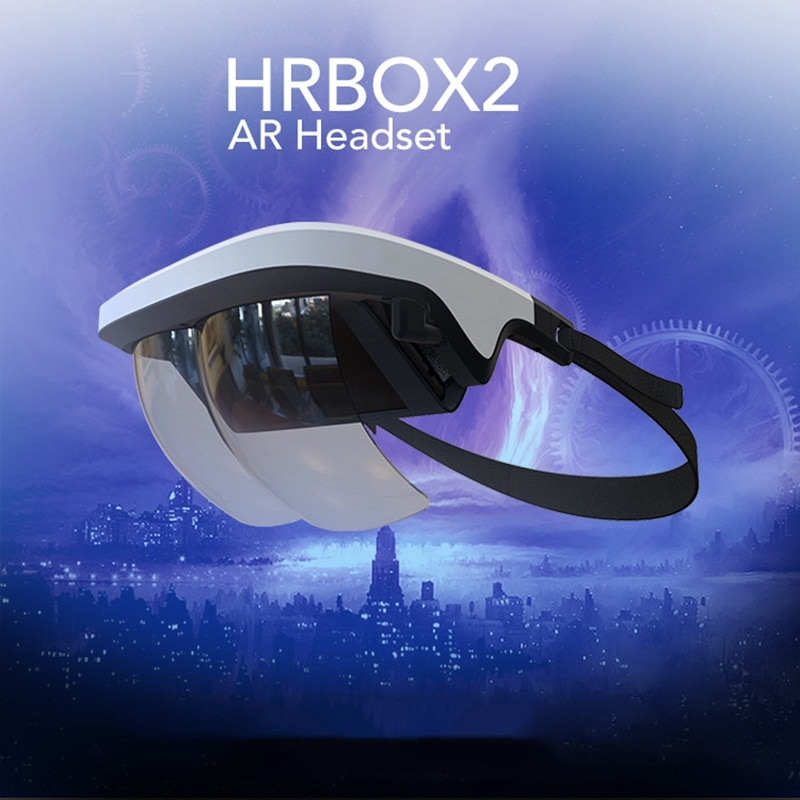 AR Headset, Smart AR Glasses 3D Video Augmented Reality VR Headset Glasses for iPhone & Android 3D Videos and Games enlarge