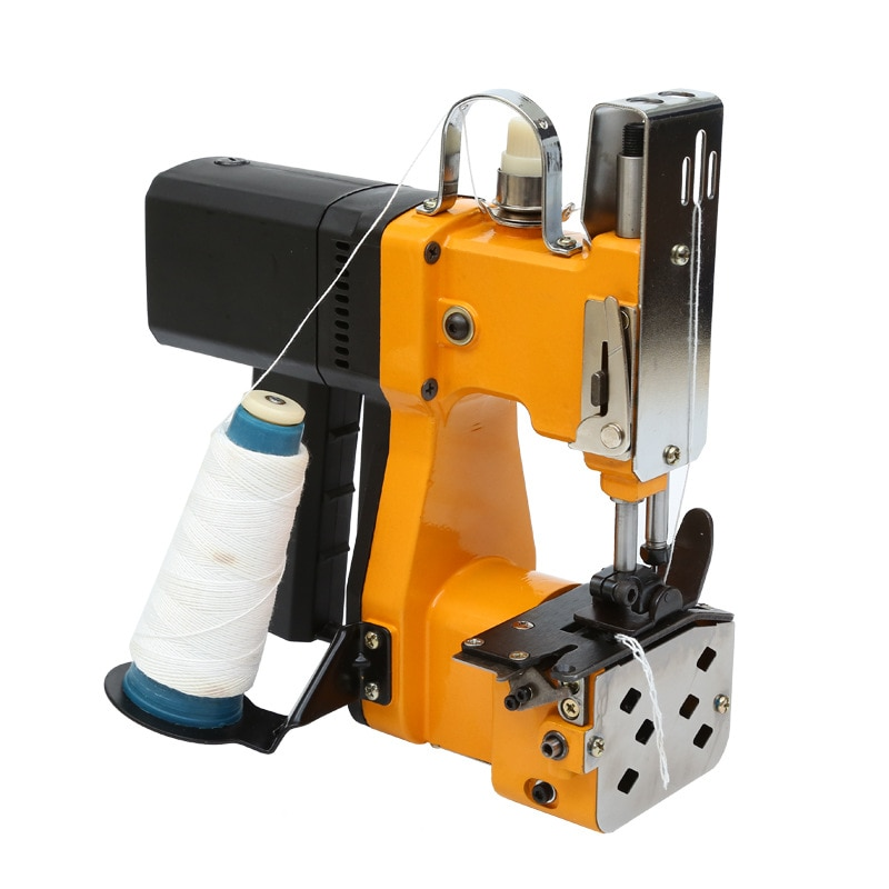 GK9-370 التلقائي المحمولة الصغيرة اكسبرس حقيبة المنسوجة آلة التعبئة في أكياس كيس أقرب الكهربائية حقيبة أرز ماكينة خياطة 110 فولت/220 فولت YZ