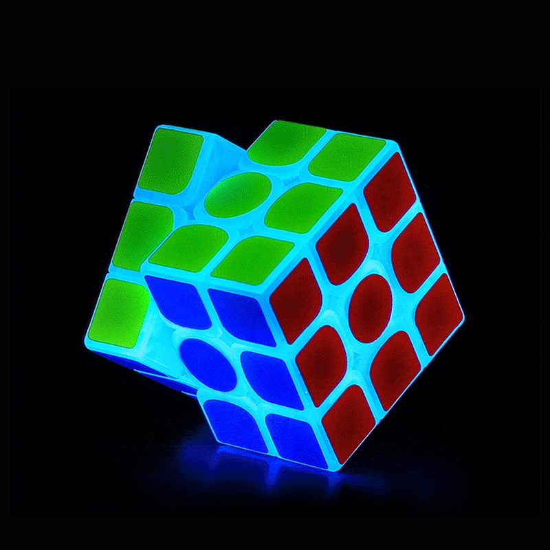 ZCUBE 3x3x3 Cubo Magico Flashing Glowin Speed Puzzle Educational Game Puzzle Glowing in the Dark Gifts For Children