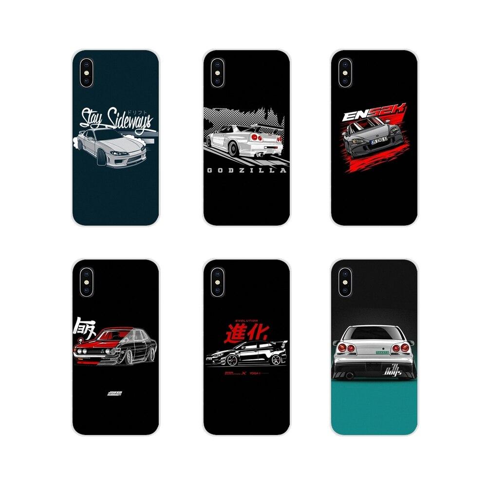 Deportes coche jdm deriva para Samsung A10 A30 A40 A50 A60 A70 Galaxy S2 nota 2 3 Oneplus 3T fundas para teléfono accesorios 5T 6T