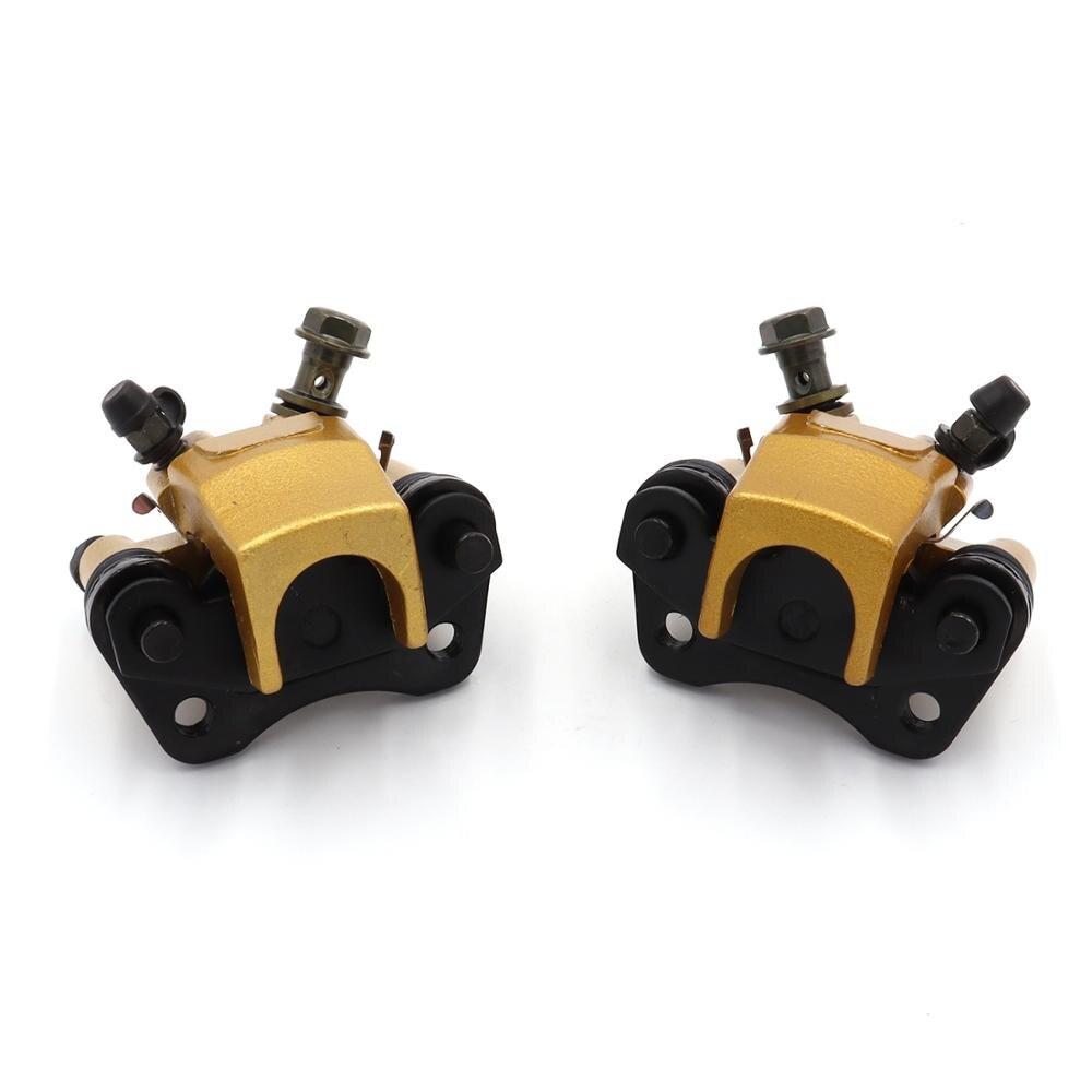 Esquerda/direita atv bomba de freio para 4 roda atv acessórios da motocicleta m10 50mm pinças freio dianteiro sob a bomba freio a disco