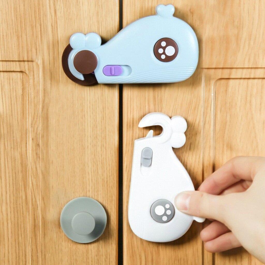 Блокировка шкафа для безопасности детей пластиковая защита от ящиков дверей