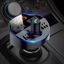Universial Wireless In-Car Bluetooth Fm-zender MP3 Radio Adapter Auto Snelle Usb Lader Sigarettenaansteker Medeplichtige