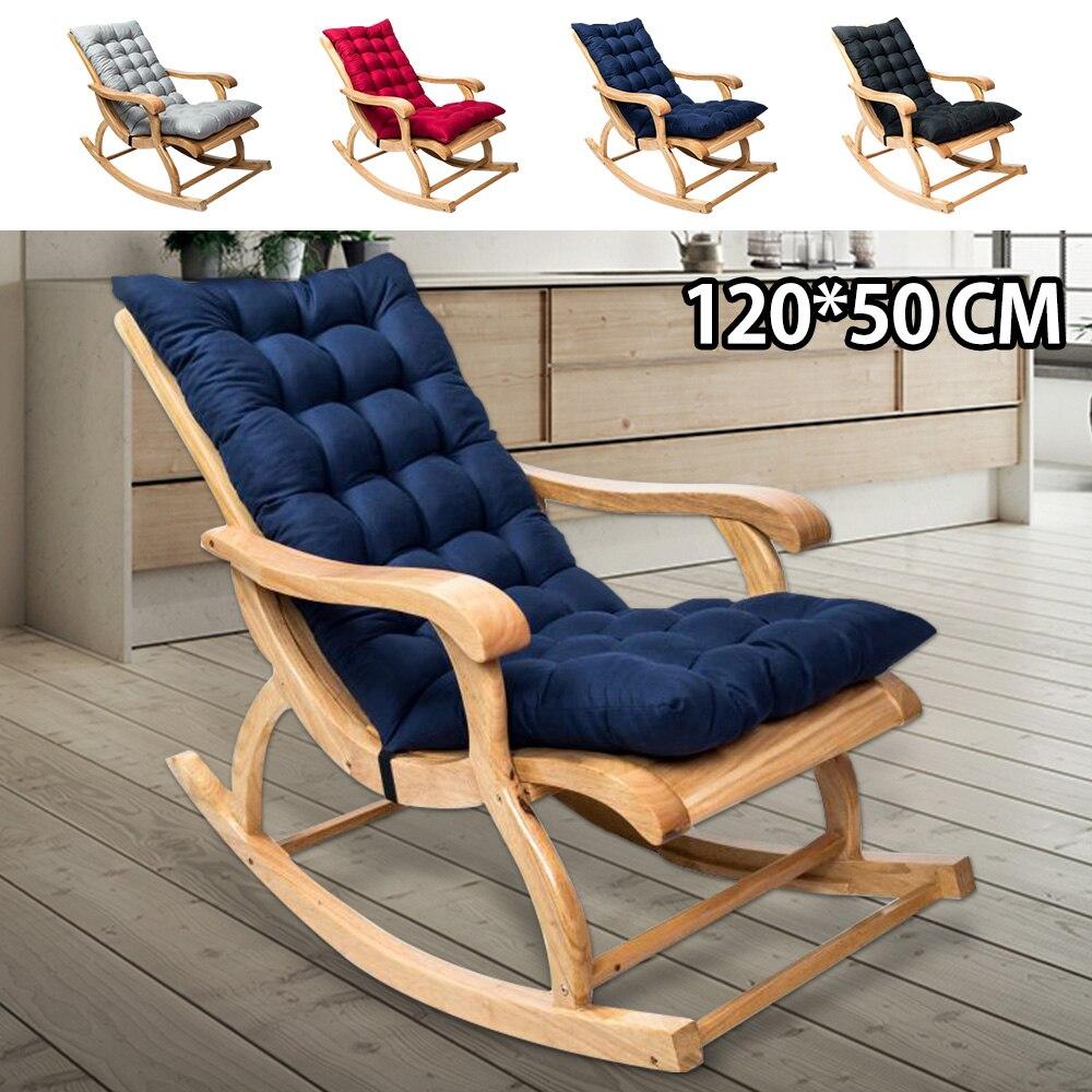 وسائد كرسي هزاز غير قابلة للانزلاق ، 120 × 50 سم ، للمقعد الخلفي ، ناعم ، للمنزل ، الحديقة ، الفناء ، في الهواء الطلق ، سجادة قابلة للطي