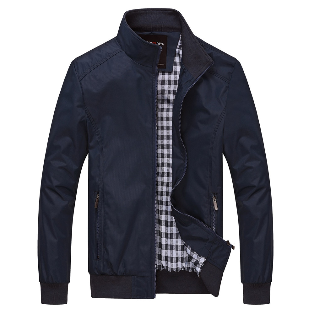 Мужская куртка весна-осень 2021, деловая Повседневная свободная Мужская куртка большого размера, Высококачественная модная мужская одежда, к...