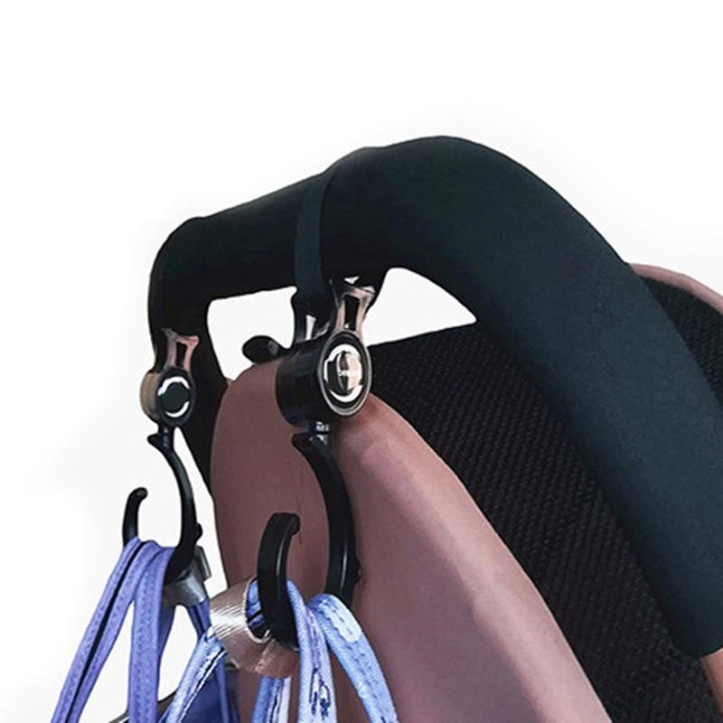 2 шт./рюкзак для детской коляски, вращение на 360 градусов, аксессуары для детского автокресла, органайзер для детской коляски