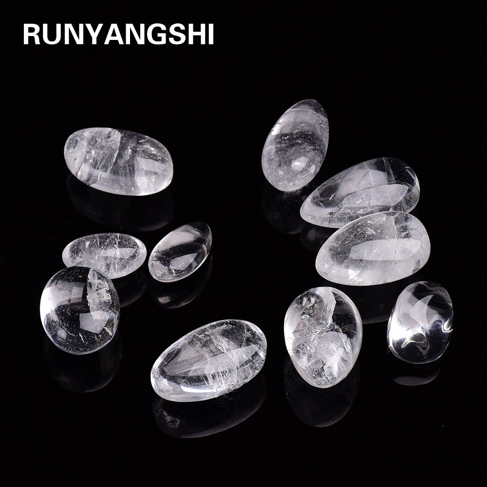 Triangulación de envíos, piedra de cuarzo transparente Natural, cuarzo blanco, muestra de Mineral de cristal, Chip de roca, grava, piedra preciosa en bruto y puro