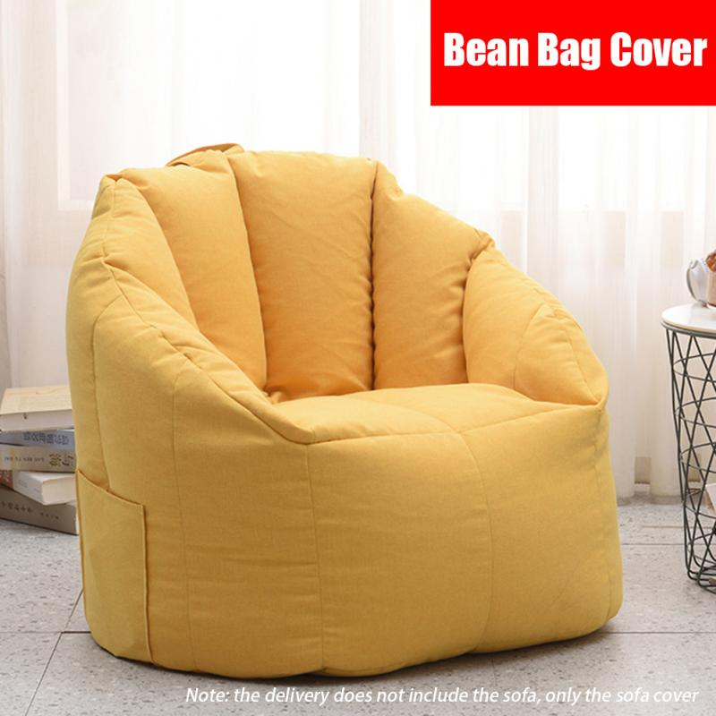 Puf Lazy Bag para sofá y silla, funda cómoda sin relleno, futón,...