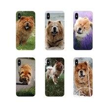 Voor Samsung Galaxy J1 J2 J3 J4 J5 J6 J7 J8 Plus 2018 Prime 2015 2016 2017 Chow Chow Hond accessoires Telefoon Gevallen Covers
