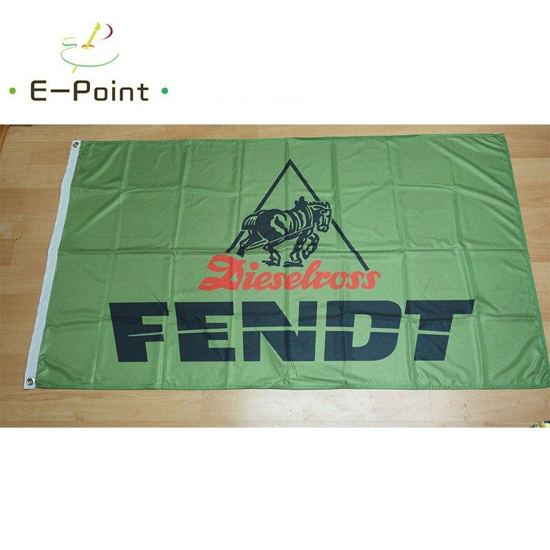 Bandeira fendt diesel ross trator verde 2ft * 3ft (60*90cm) 3ft * 5ft (90*150cm) tamanho decorações de natal para casa bandeira banner presentes