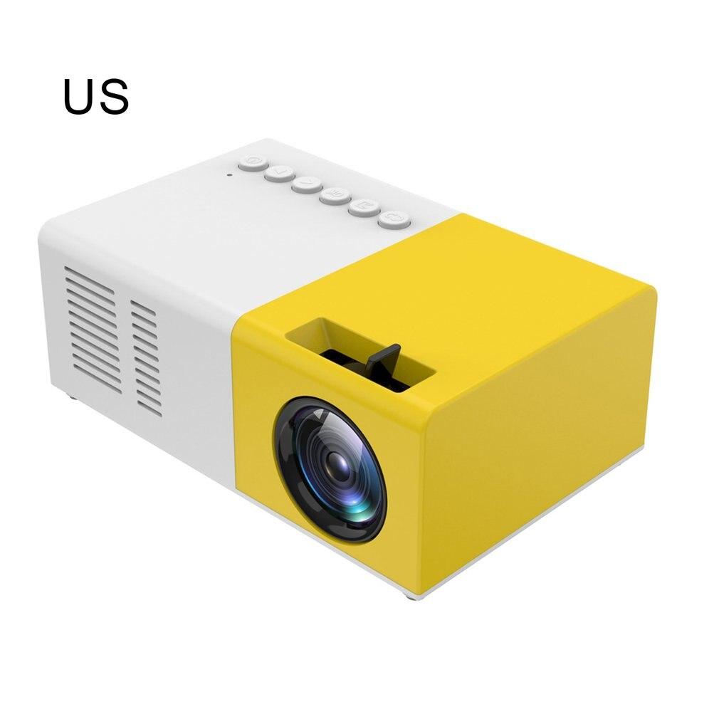 المحمولة العارض ثلاثية الأبعاد عالية الوضوح Led المسرح المنزلي سينما Hdmi متوافق Usb الصوت العارض Yg300 جهاز عرض صغير كامارا