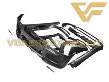 Adecuado para BMW E71 08-14 X6 xDrive 30i 35i 35d 40d 50i VAD-HM2 Kit de cuerpo completo para lateral de parachoques faldones Fender bengalas