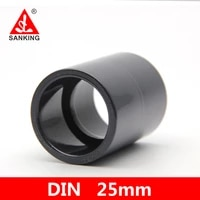 sanking upvc 25mm coupling%ef%bc%88s x s%ef%bc%89straight connector water pipe coupling for garden irrigation watering aquarium pipe joints