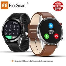 Focus mart montre intelligente hommes L11 Fitness Tracker montre intelligente ECG + PPG fréquence cardiaque montre intelligente hommes pour android ios PK iwo8 DT78 L5