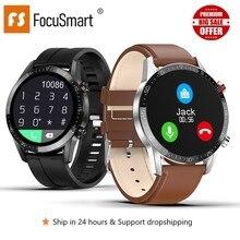 Focusmart Smart Horloge Mannen L11 Fitness Tracker Smart Horloge Ecg + Ppg Hartslag Slimme Horloge Mannen Voor Andriod Ios pk Iwo8 DT78 L5