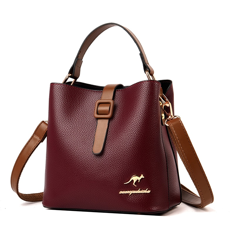 brand 2019 hot genuine leather bag zooler soft real leather ladies hand bags tote bag luxury shoulder bags bolso mujer 10105 Luxury Handbags Women Bags Designer Bucket Bag Female Soft Leather Shoulder Bag Sac Fashion Casual Tote Ladies Crossbody Bags