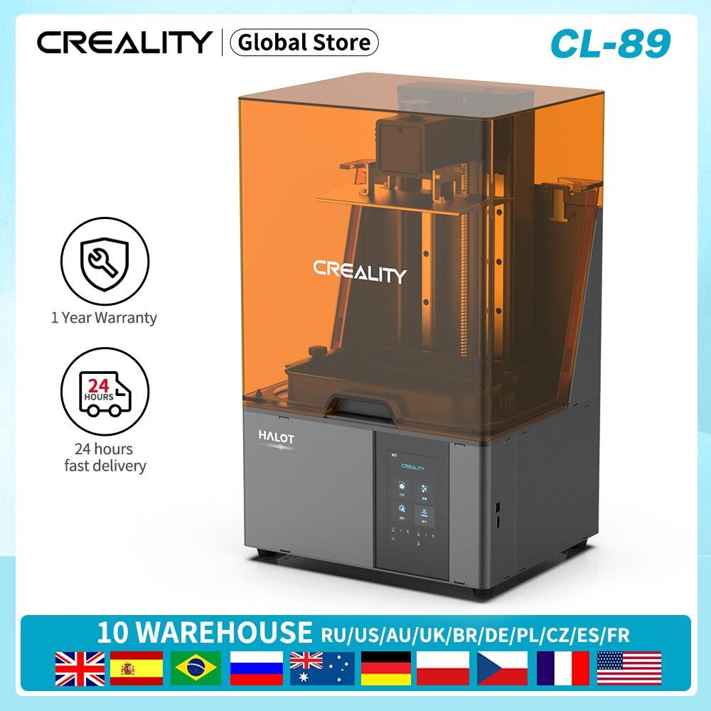 CREALITY 3D HALOT-SKY CL-89 الراتنج 3D طابعة