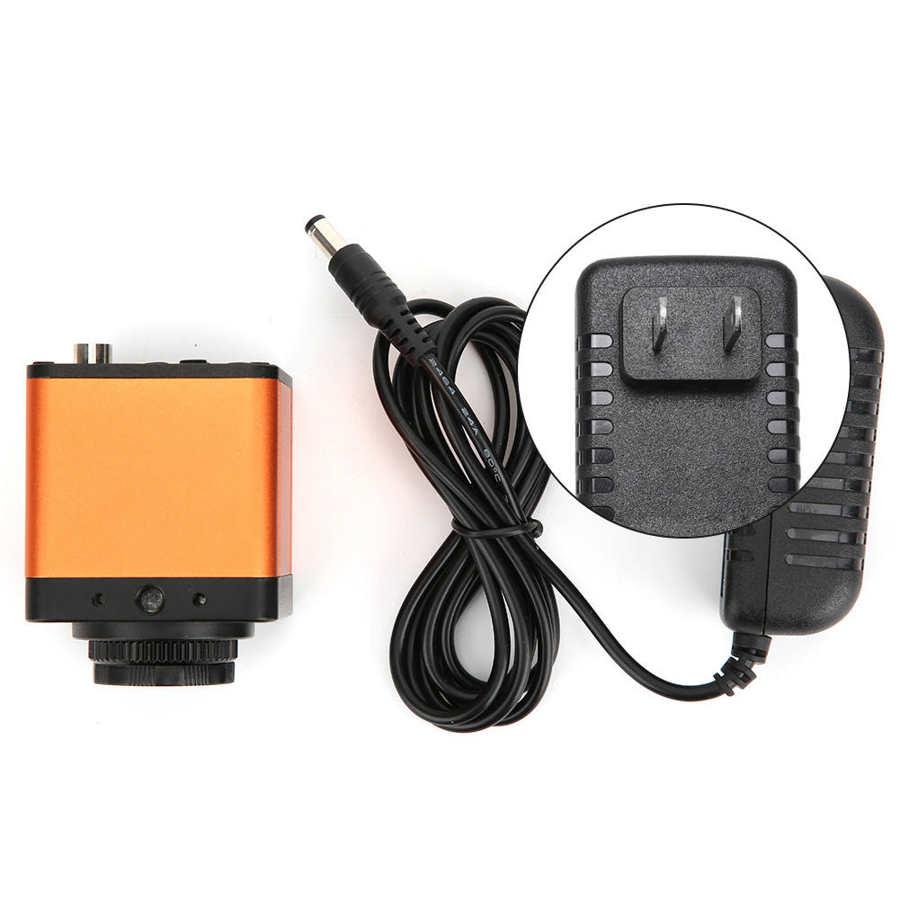 1080P 2MP 1/3in الاستشعار VGA كاميرا مجهَّزة بميكروسكوب رقمي إلكتروني لإصلاح المراقبة 100-240 فولت