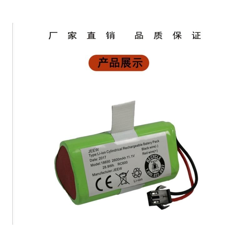 Nueva batería para Ecovacs CEN330 CEN332 CR333 Robot Cleaner sweater Li-ion recargable reemplazo 11,1 V 2600mAh salida de fábrica